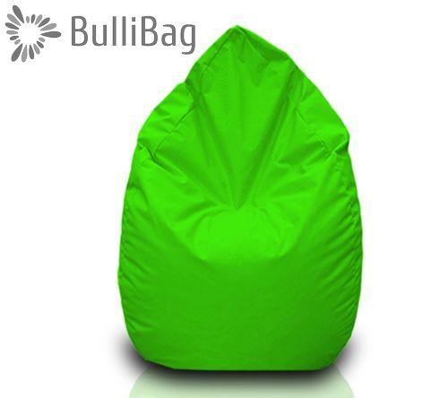 Sedací pytel Bullibag® hruška - Svítivě zelená