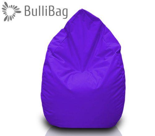 Sedací pytel Bullibag® hruška - Fialová