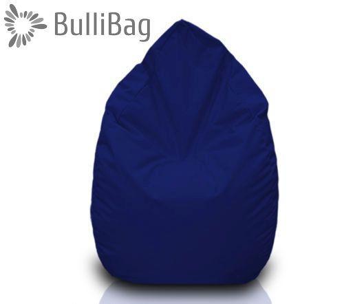 Sedací pytel Bullibag® hruška - Modrá tmavá