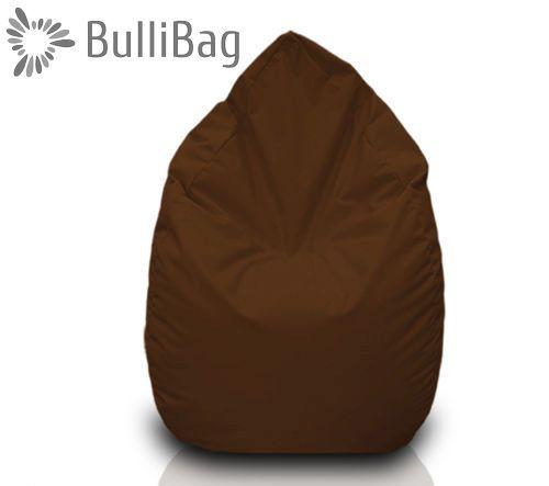 Sedací pytel Bullibag® hruška - Hnědá