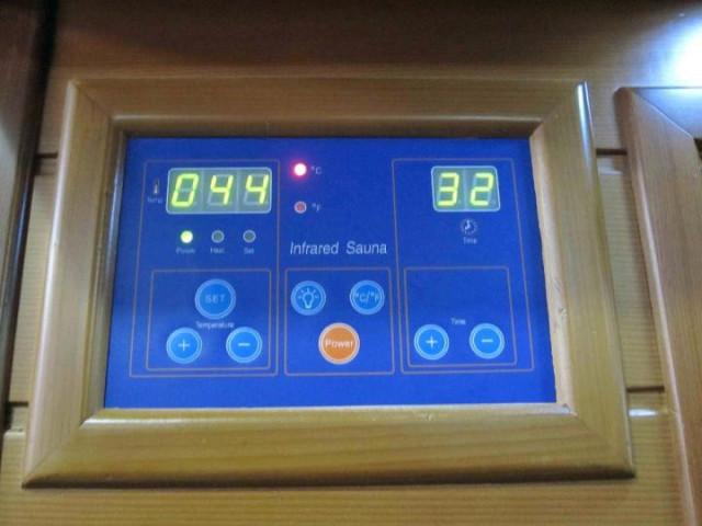 Infrasauna DeLuxe 2002 Carbon