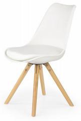 Jídelní židle K201 - bílá
