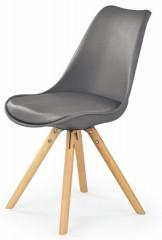 Jídelní židle K201 - šedá