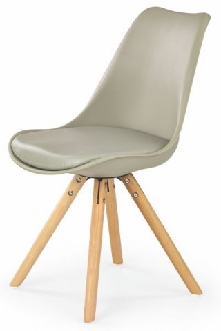 Jídelní židle K201 - khaki
