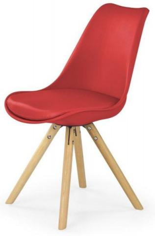 Jídelní židle K201 - červená