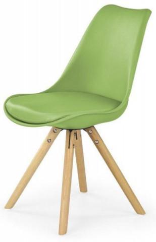 Jídelní židle K201 - zelená