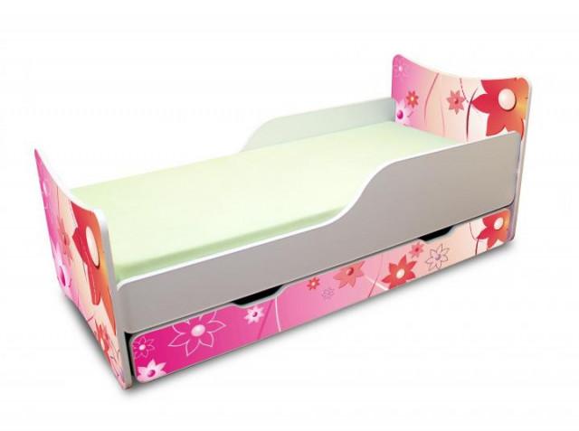Dětská postel KVĚTINKY