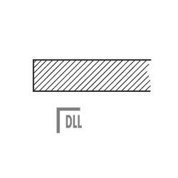 DLL Stolová deska dřevěná - lamino DLL
