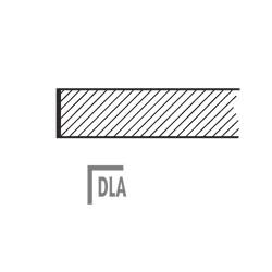ATAN DLA Stolová deska dřevěná - lamino DLA 50x50cm