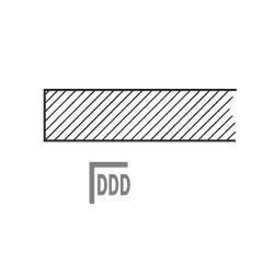 DTD Stolová deska dřevěná - dýha na DTD