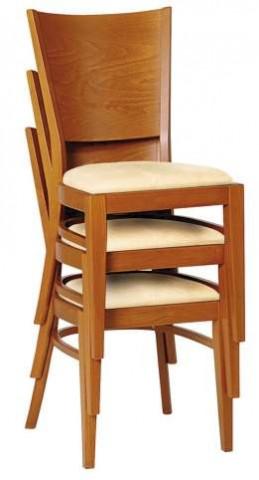 Židle 313 917 Norma stohovatelná