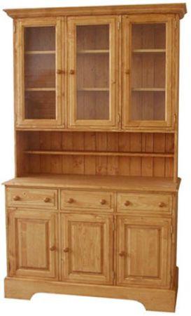 Dřevěná kredenc 00142