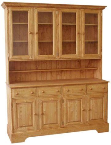 Dřevěná kredenc 00143