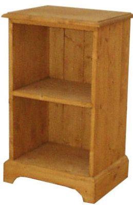 Dřevěný noční stolek s poličkou 00135