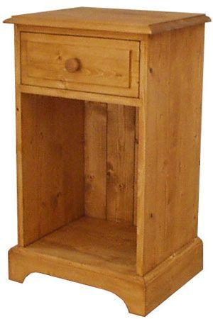 Dřevěný noční stolek 00136