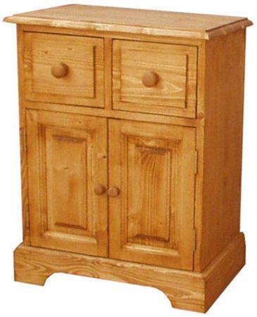 Dřevěný noční stolek 00215