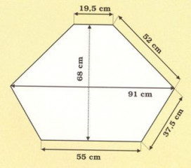 Dřevěná vitrína jednoduchá rohová 00705