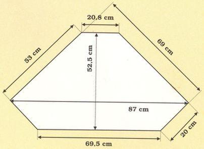Dřevěná skříň rohová vysoká 00176