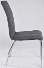 Jídelní židle DCL-534 - GREY2 - látka šedá