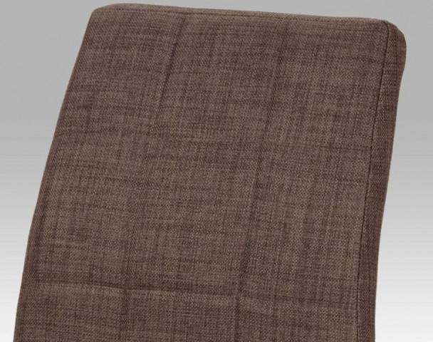 Jídelní židle DCL-534 - BR2 - látka hnědá