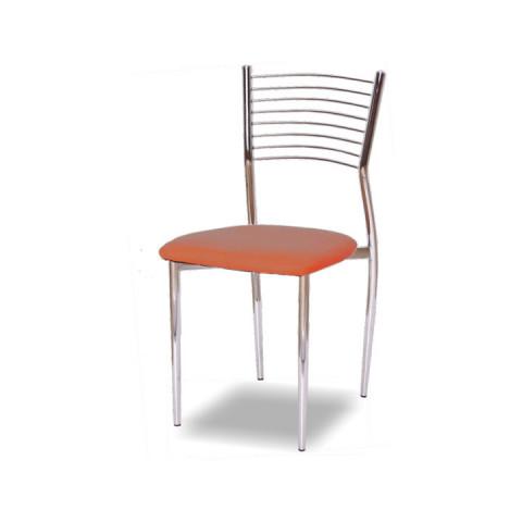 Jídelní židle ZAIRA - oranžová