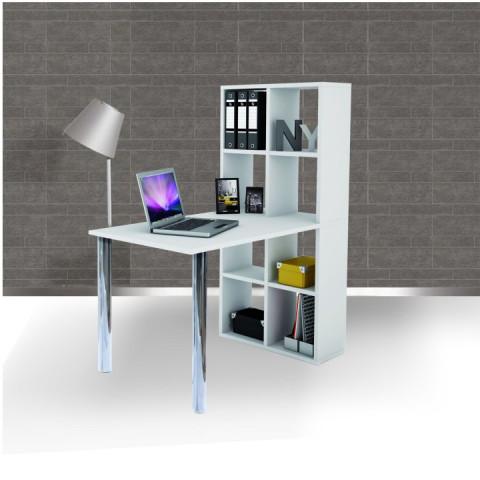 PC stůl s regálem BEXINTON