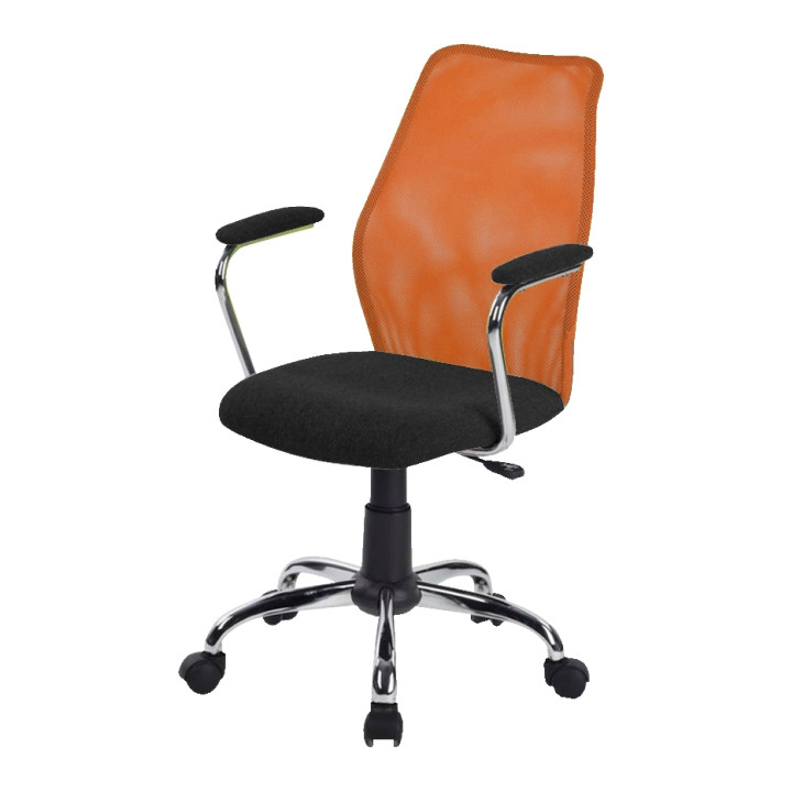 Tempo Kondela Kancelářská židle BST 2003 - oranžová + kupón KONDELA10 na okamžitou slevu 10% (kupón uplatníte v košíku)