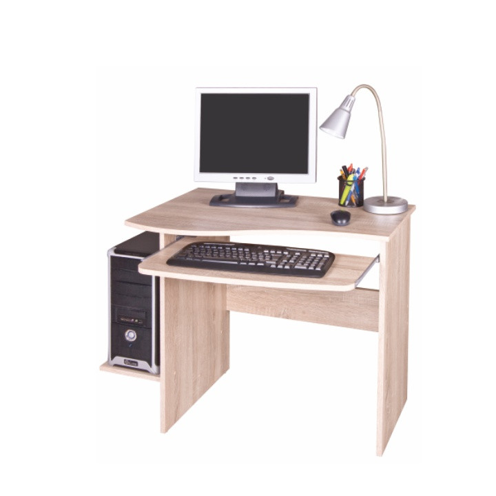 Tempo Kondela PC stolek MELICHAR - dub sonoma + kupón KONDELA10 na okamžitou slevu 3% (kupón uplatníte v košíku)