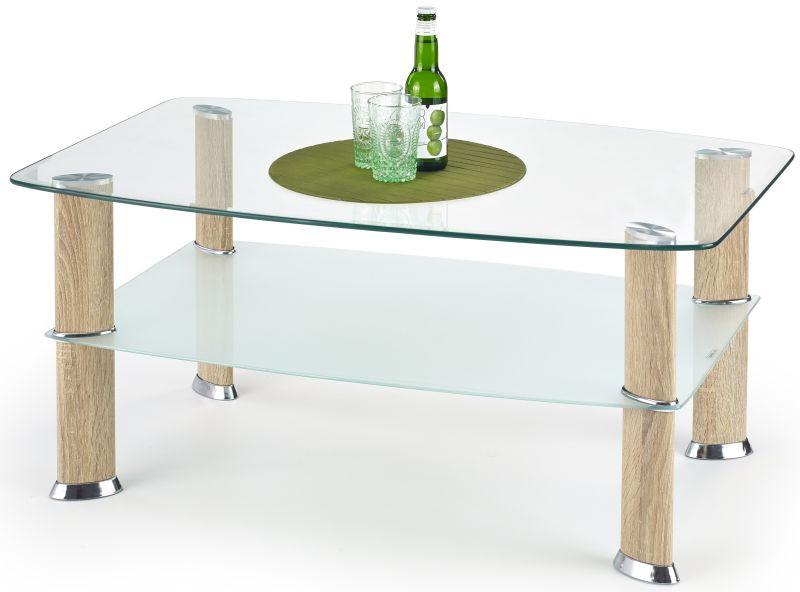 Halmar Konferenční stolek Astra Dub sonoma