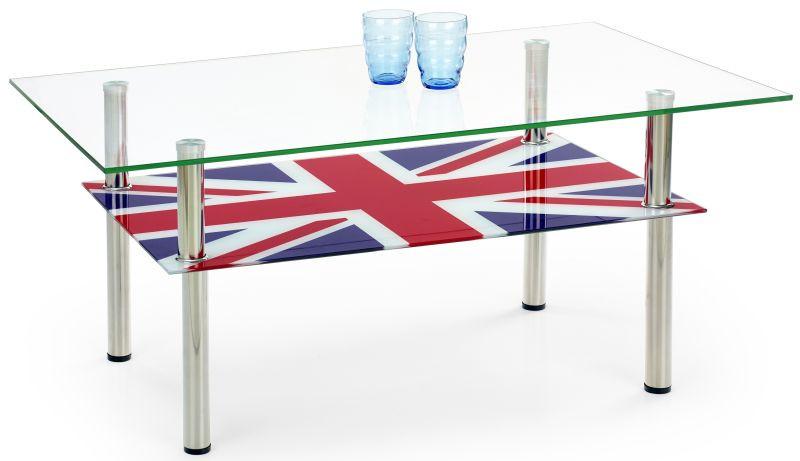 Halmar Konferenční stolek Cleopatra Vícebarevný