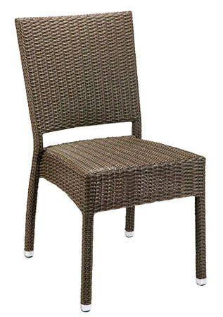 Židle Mezza - CastanaLeather look