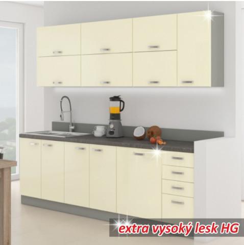 Kuchyňská linka PRADO - krémová