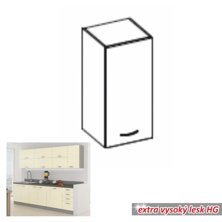 Tempo Kondela Kuchyňská skříňka PRADO 40 G-72 1F + kupón KONDELA10 na okamžitou slevu 10% (kupón uplatníte v košíku)