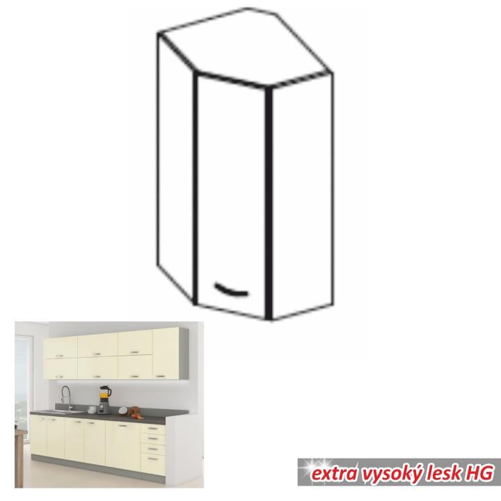Tempo Kondela Kuchyňská skříňka PRADO 60/60 N G-72 + kupón KONDELA10 na okamžitou slevu 10% (kupón uplatníte v košíku)