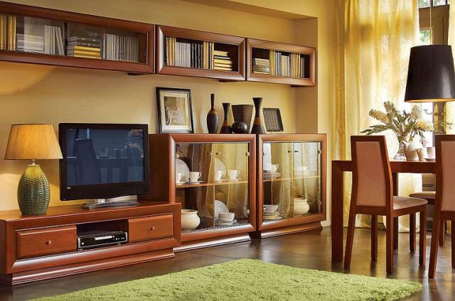 Televizní stolek Largo Classic RTV2S/4/15