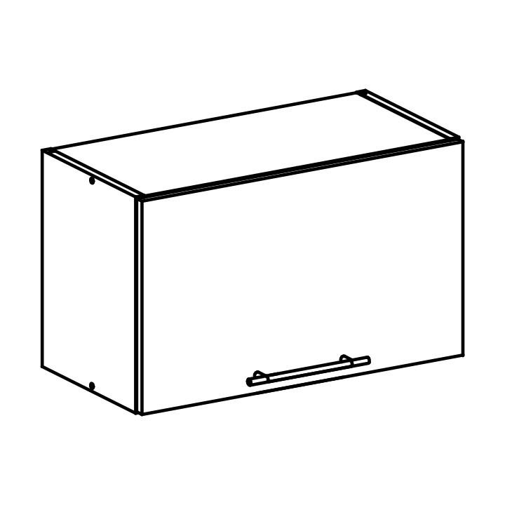 Tempo Kondela Horní skříňka, bílá, FABIANA W - 60OK