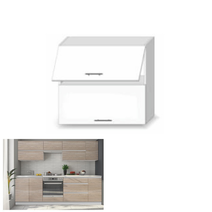 Kuchyňská skříňka LINE SONOMA G80 U