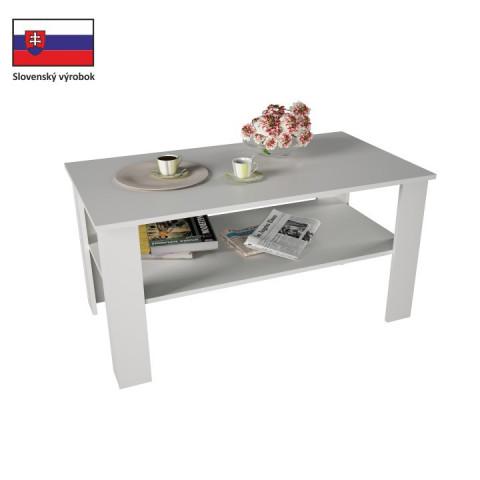 Konferenční stolek GAUDI - bílá