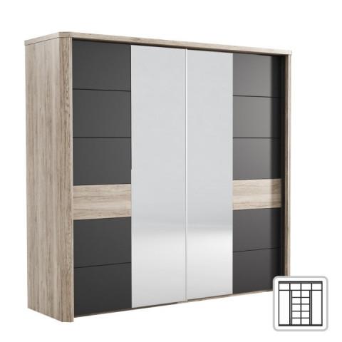 Zrcadlová skříň LN02 LUMPUR