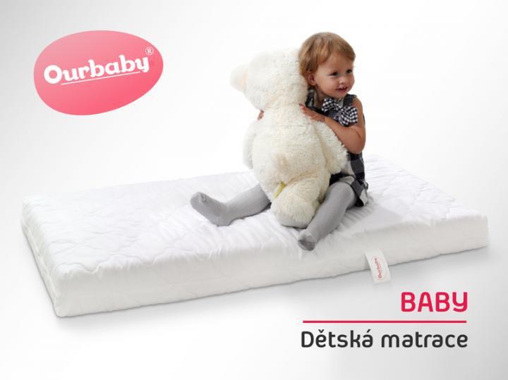 Dětská matrace BABY - 120x60 cm