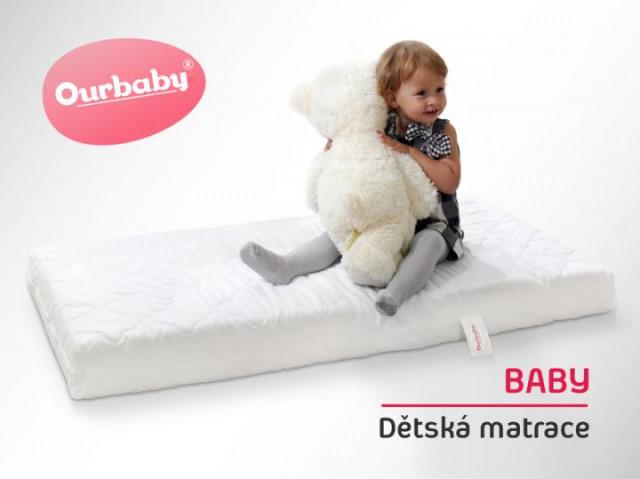 Dětská matrace BABY - 130x70 cm