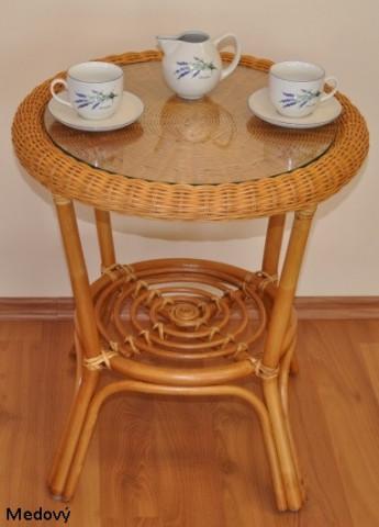 Ratanový stolek Fabion
