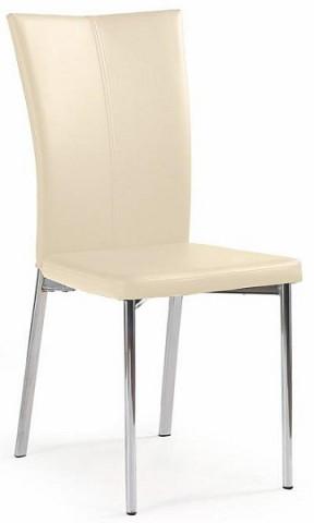 Jídelní židle K113 - tmavě krémová