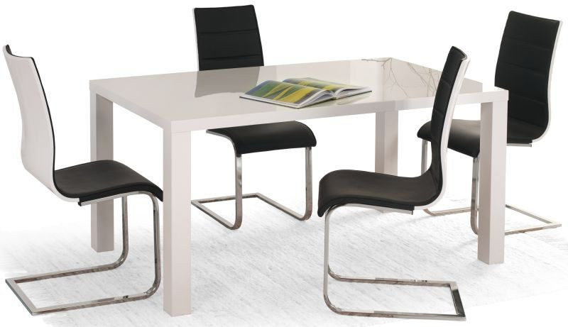 Halmar Jídelní stůl Ronald Bílý 120x80 cm