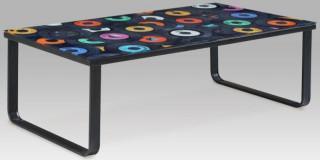 Konferenční stolek s potiskem CT-1010 - GRA