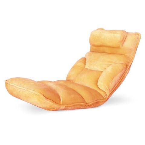 Relaxační křeslo LOTA oranžové