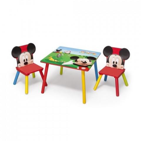 Dětský stůl s židlemi Myšák Mickey II