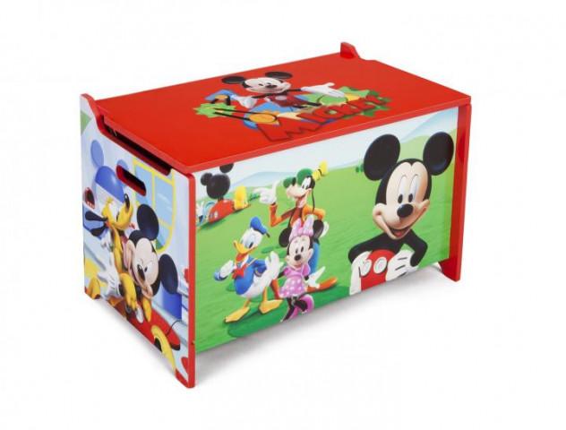 Dětská dřevěná truhla Mickey Mouse