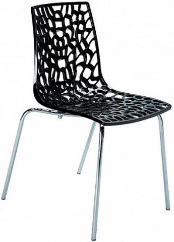 Jídelní židle Groove Polypropylen nero