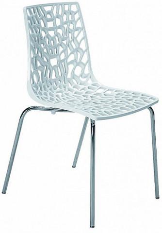 Jídelní židle Groove Polypropylen bianco